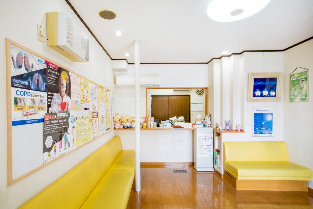 辻井院の待合室